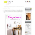 Mujeres Blogger, Ministry of deco