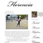 Mujeres Blogger, Florencia