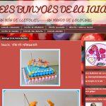 Mujeres Blogger, Els bunyols de la iaia