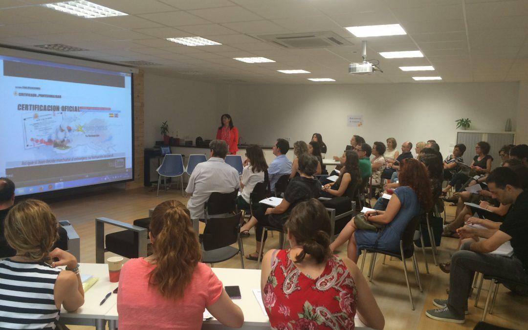 Jornada sobre l'Oferta de formació per a l'Ocupació de La Safor