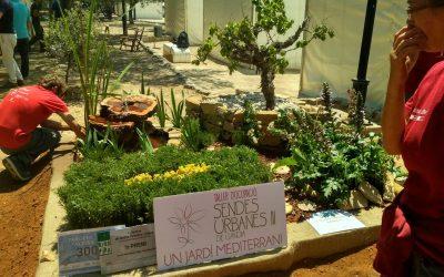 PRIMER PREMI per al Taller d'Ocupació Sendes Urbanes de Gandia III en el concurs de jardineria a la BIOSFIRA.
