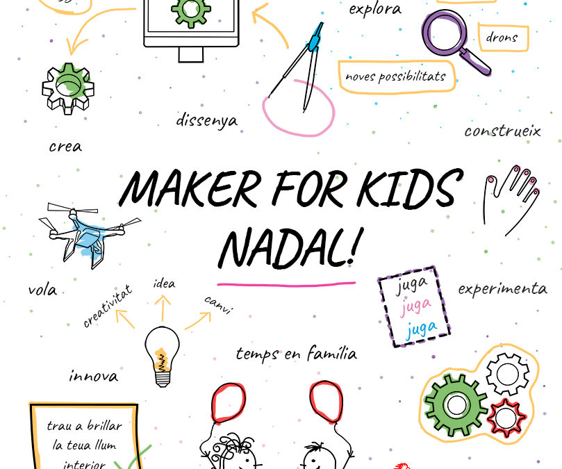MAKER FOR KIDS Edició nadalenca 2019