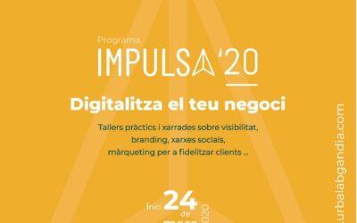 Impulsa 2020. Programa d'impuls i promoció del negocis a través d'Internet.