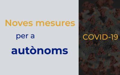 Quines són les noves mesures per a autònoms enfront del COVID19