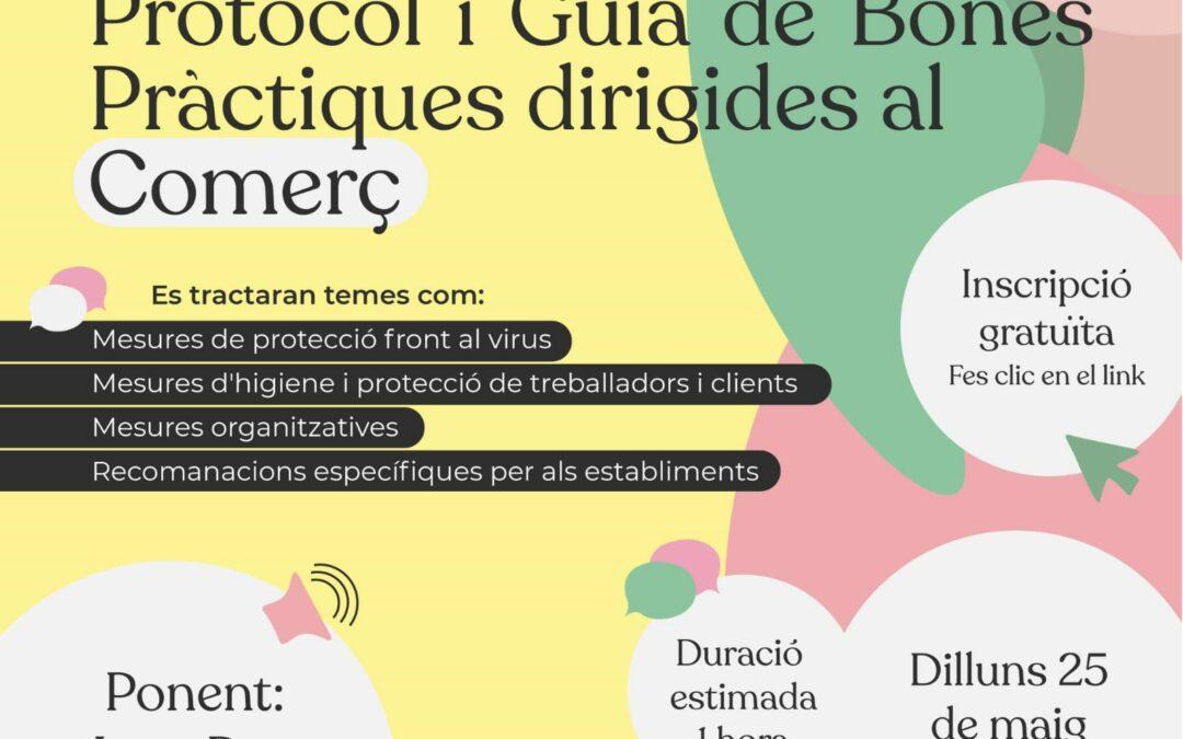 WEBINAR. Plan de Acción Covid-19: Protocolo y Guía de Buenas Prácticas dirigidas a la Actividad Comercial