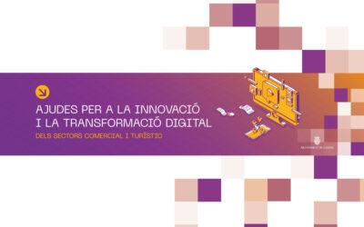 Aprovades les ajudes directes per al foment de la innovació i la transformació digital de les empreses dels sector comerç i turisme.