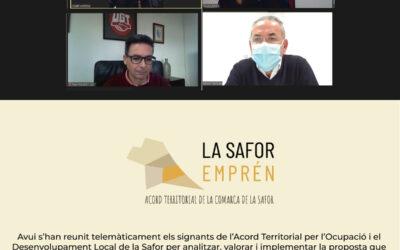 Un pas endavant cap a l'Acord Territorial per a l'Ocupació i el Desenvolupament de la comarca de la Safor 2021-2022