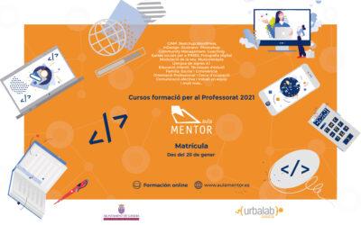 Cursos de Formació per al Professorat 2021
