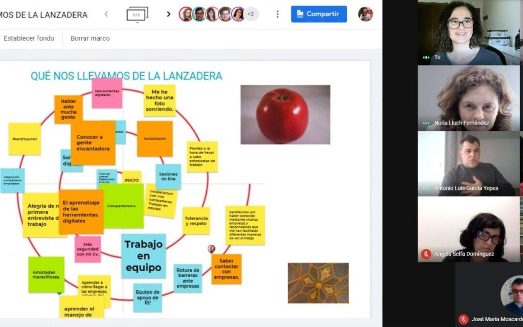 """Finaliza """"Lanzadera Conecta Empleo"""" de Gandia  que ha contado con la participación de 23 personas desempleadas."""